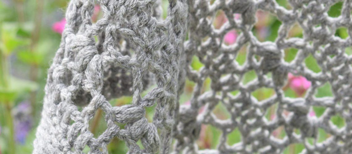 Crochet Pattern Lagom Shawl - Hobbydingen.com