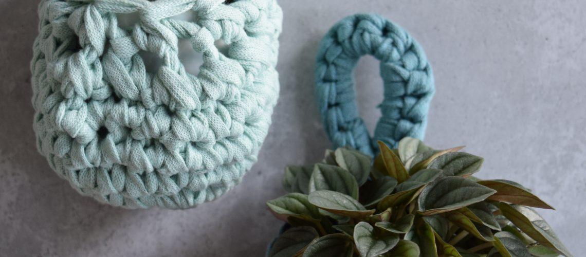 Crochet Pattern Small Plant Pocket - Hobbydingen.com
