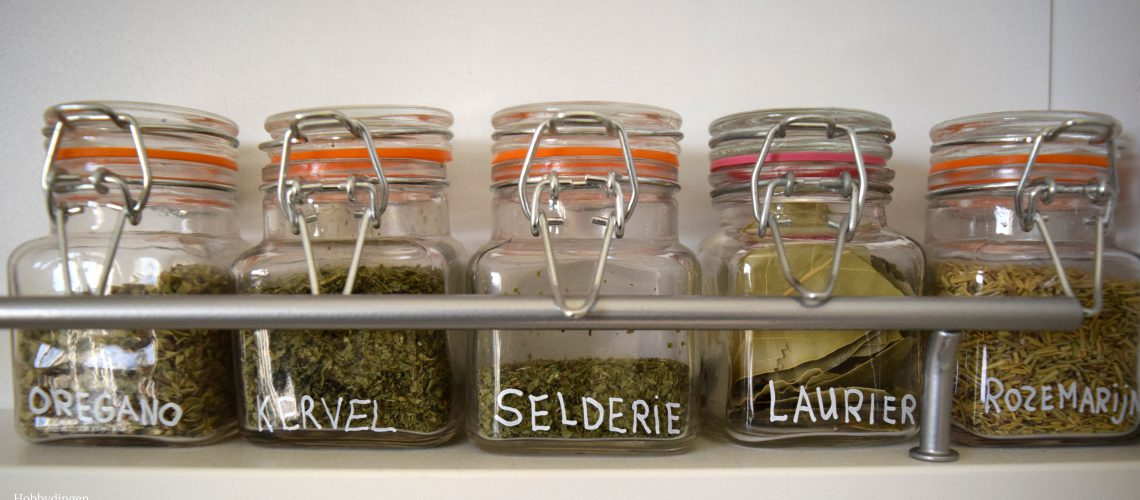 How To Organize Your Spice Rack - Hobbydingen.com