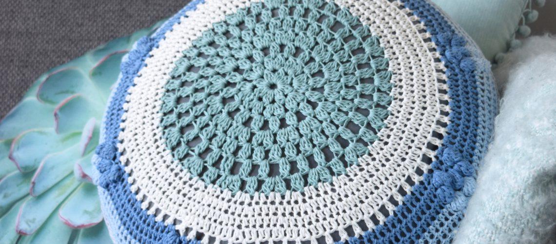 Mandala Cushion Crochet Pattern - Hobbydingen