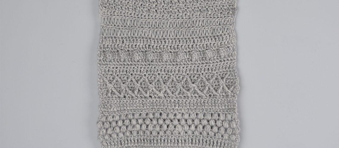 Textured Wall Hanging Crochet - Hobbydingen.com