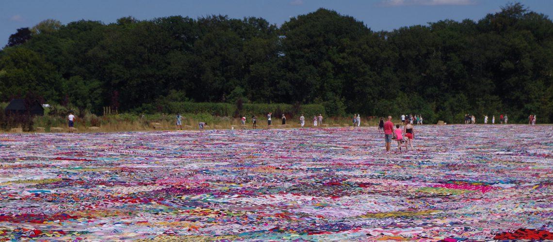 The Biggest Crochet Blanket of The World - Hobbydingen.com