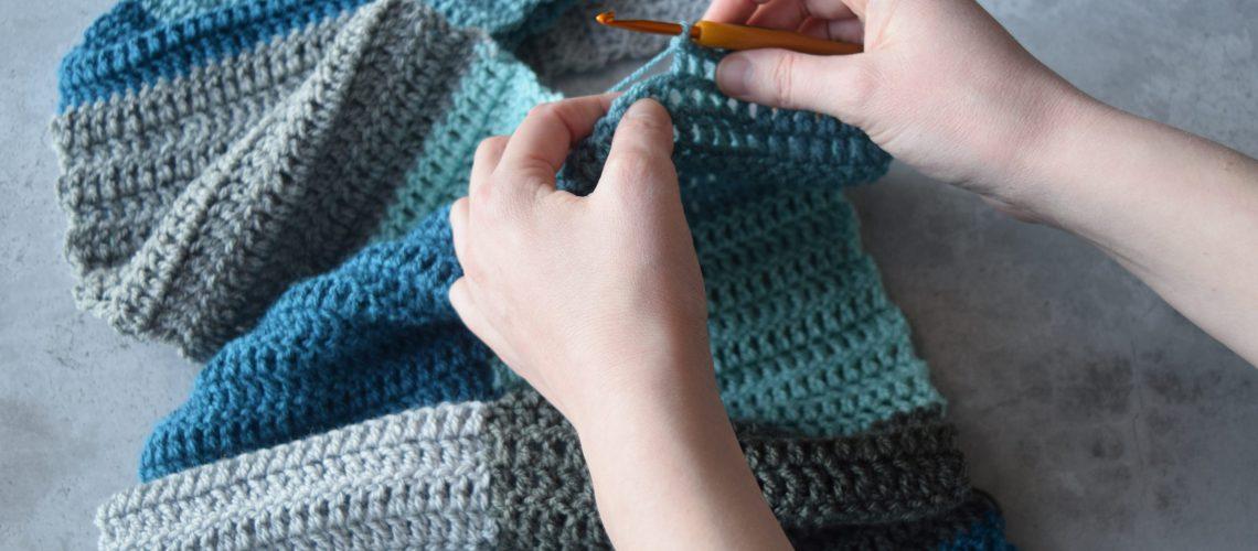 Crochet Age Before Beauty Blanket - Hobbydingen.com